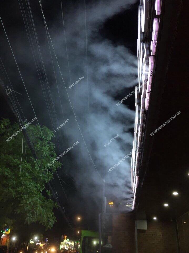 lắp phun sương ống đồng